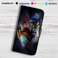 Shaco League of Legends Custom Leather Wallet iPhone 4/4S 5S/C 6/6S Plus 7| Samsung Galaxy S4 S5 S6 S7 Note 3 4 5| LG G2 G3 G4| Motorola Moto X X2 Nexus 6| Sony Z3 Z4 Mini| HTC ONE X M7 M8 M9 Case