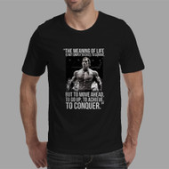 Arnold Schwarzenegger Quotes Custom Men Woman T Shirt