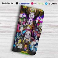 Undertale All Characters Custom Leather Wallet iPhone 4/4S 5S/C 6/6S Plus 7| Samsung Galaxy S4 S5 S6 S7 Note 3 4 5| LG G2 G3 G4| Motorola Moto X X2 Nexus 6| Sony Z3 Z4 Mini| HTC ONE X M7 M8 M9 Case