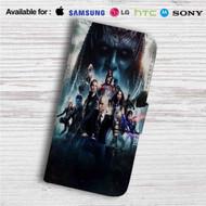 X Men Apocalypse Custom Leather Wallet iPhone 4/4S 5S/C 6/6S Plus 7| Samsung Galaxy S4 S5 S6 S7 Note 3 4 5| LG G2 G3 G4| Motorola Moto X X2 Nexus 6| Sony Z3 Z4 Mini| HTC ONE X M7 M8 M9 Case