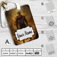 Dark Souls 3 Red Knight Custom Leather Luggage Tag