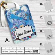 Digimon Adventure Tri Yamato and Gabumon's Evolution Custom Leather Luggage Tag