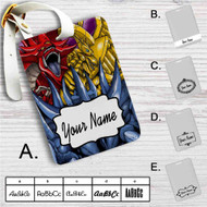 Dragon Ra YuGiOh Custom Leather Luggage Tag