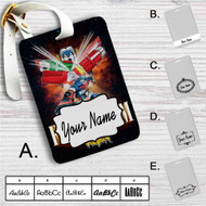 Fleet of Doom Voltron Custom Leather Luggage Tag