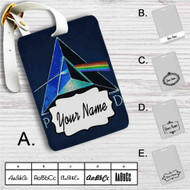Junk Food Pink Floyd Custom Leather Luggage Tag
