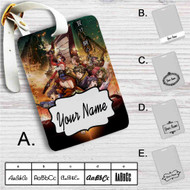 Kabaneri of the Iron Fortress Custom Leather Luggage Tag