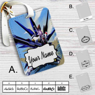 Mobile Suit Gundam Seed Custom Leather Luggage Tag