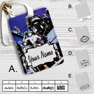 Mobile Suit Gundam The 08th MS Team Custom Leather Luggage Tag