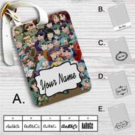 Nintama Rantarou Custom Leather Luggage Tag