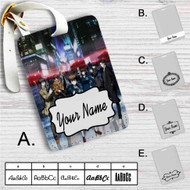 Psycho Pass Custom Leather Luggage Tag