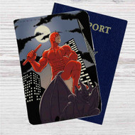 Daredevil Custom Leather Passport Wallet Case Cover