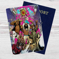 Flatbush Zombies Custom Leather Passport Wallet Case Cover