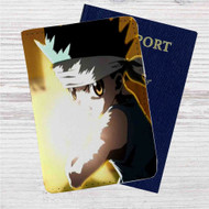 Hunter X Hunter Gon Freecss Custom Leather Passport Wallet Case Cover