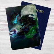 Maokai League of Legends Custom Leather Passport Wallet Case Cover