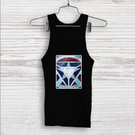 Captain America Shield Iron Man Arc Reactor Custom Men Woman Tank Top T Shirt Shirt