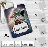 Voltron Force Custom Leather Luggage Tag