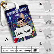 Astro Boy Custom Leather Luggage Tag