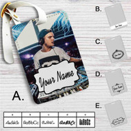 Avicii DJ Custom Leather Luggage Tag