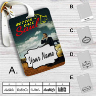 Better Call Saul Custom Leather Luggage Tag