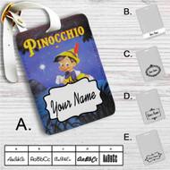 Disney Pinocchio Classic Custom Leather Luggage Tag