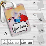 Disney Sleeping Beauty Classic Custom Leather Luggage Tag