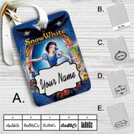 Disney Snow White and The Seven Dwarfs Custom Leather Luggage Tag