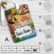 Disney The Fox and the Hound Custom Leather Luggage Tag