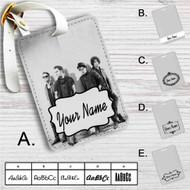 Fall Out Boy Custom Leather Luggage Tag