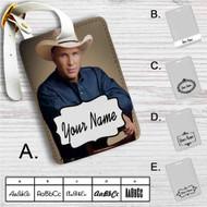 Garth Brooks Custom Leather Luggage Tag