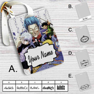 Hunter X Hunter Characters Custom Leather Luggage Tag