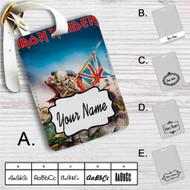 Iron Maiden Trooper Custom Leather Luggage Tag