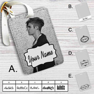 Justin Bieber Purpose Tour Custom Leather Luggage Tag