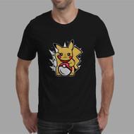 Pokemon Pikachu Pokeball Custom Men Woman T Shirt