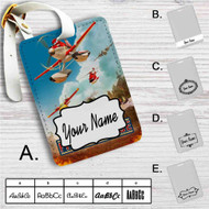 Planes Fire and Recue Disney Custom Leather Luggage Tag