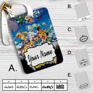 Pokemon Characters Custom Leather Luggage Tag
