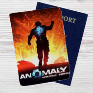 Anomaly Warzone Earth Custom Leather Passport Wallet Case Cover