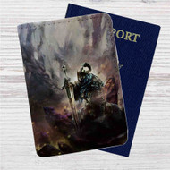 Artorias of The Abyss Dark Souls Custom Leather Passport Wallet Case Cover