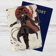 Assassin's Creed Avatar The Legend Of Korra Custom Leather Passport Wallet Case Cover