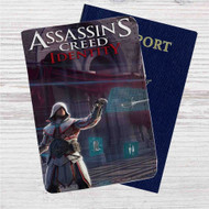 Assassin's Creed Identity Custom Leather Passport Wallet Case Cover