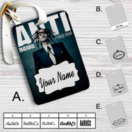 Rihanna Anti World Tour Custom Leather Luggage Tag