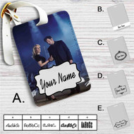 The X-Files Movie Custom Leather Luggage Tag