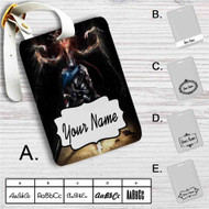 Artorias of the Abyss and Black Dragon Kalameet Custom Leather Luggage Tag