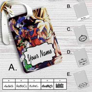 Dragon Ball Z Fighter Custom Leather Luggage Tag