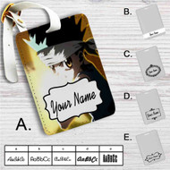Hunter X Hunter Gon Freecss Custom Leather Luggage Tag