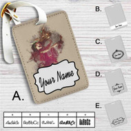 Jinx League of Legends 1 Custom Leather Luggage Tag
