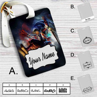 Shaco League of Legends Custom Leather Luggage Tag