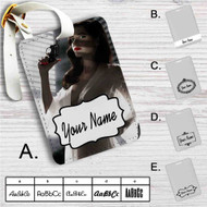 Sin City A Dame to Kill For Custom Leather Luggage Tag