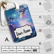 The AD Carries Vayne Draven Ashe League of Legends Custom Leather Luggage Tag