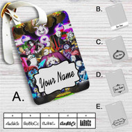 Undertale All Characters Custom Leather Luggage Tag