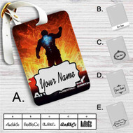 Anomaly Warzone Earth Custom Leather Luggage Tag